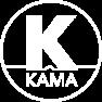 KAMA 白色背景LOGO白